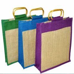 Multicolor Plain Eco Friendly Jute Bag