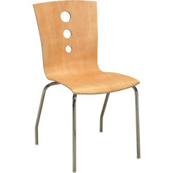 Designer Wooden Cafeteria Chair