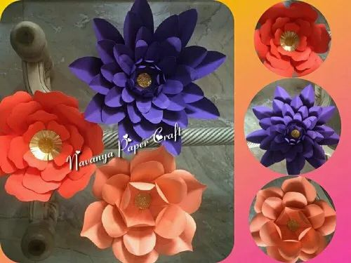 Giant Paper Flowers For Decoration