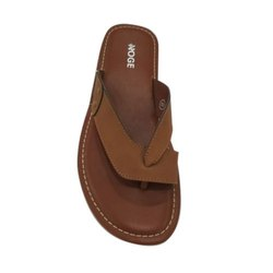 Casual Wear NOGE Mens Brown Casual Slipper