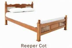Teak Wood Repeer Cot