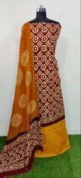 IRIS Cotton Fancy Batik Print Salwar Suit