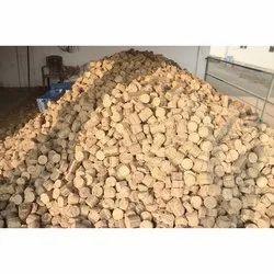 Soya husk Solid Biomass Briquettes, For Boiler