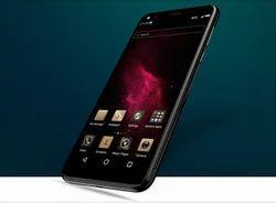 Black Micromax Canvas 2 Plus Mobile Phones