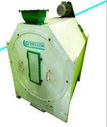 Semi-Automatic Painted 3HP Drum Sieve Machine, Three Phase