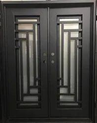 Exterior Steel Double Iron Door