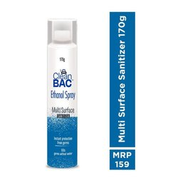 Clean BAC Multi Surface Hand Sanitizer Spray 170 gm