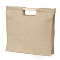 Jute Wooden Handle Bag