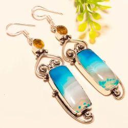Designer Gemstone Earrings