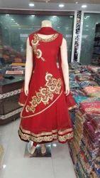 Red Ladies Suit