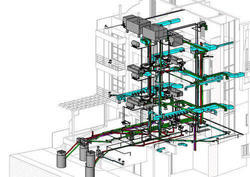 Mechanical HVAC Drafting Services at Silicon Engineering Consultants LLC