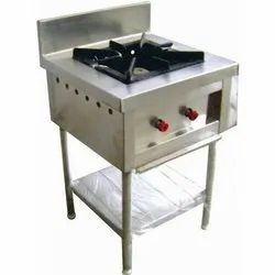 Stainless Steel Commercial SS Single Burner Gas Stove