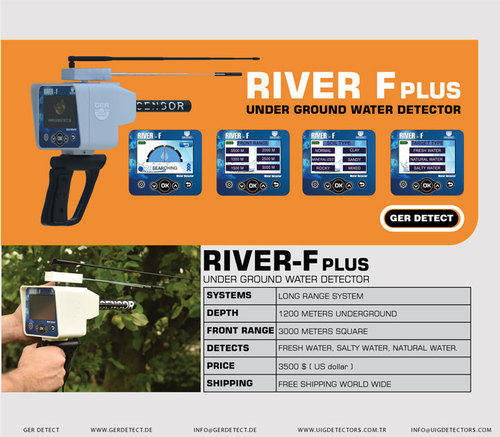 River F Plus Device Long Ranger Ground Water Detector