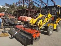 JCB Attachment Hydraulic Road Sweeper Machine