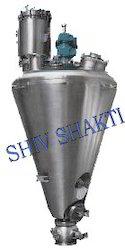 ShivShakti Nauta Conical Vacuum Dryer, Capacity: 50 to 5000 Ltrs