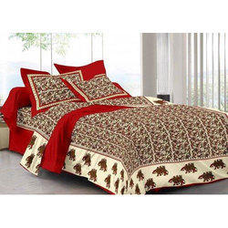 Cotton Rajasthani Double Bed Sheet