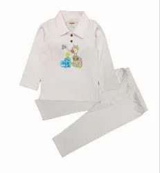 Elegant Shirt With Full Pant For Baby Boys