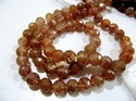 Copper Rutilated Gemstone Beads