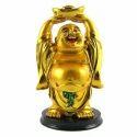 Feng Shui Brass Laughing Buddha Showpiece