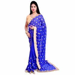 Shivleela Silk Handwork Saree, Blouse Size: 90 Cm