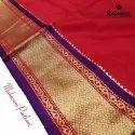 Silk Rajashree Maharani Paithani Fancy Sarees, 5.5 M (separate Blouse Piece), Packaging Type: Packet, Box