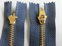 No 4.5 Jean Metal Zippers