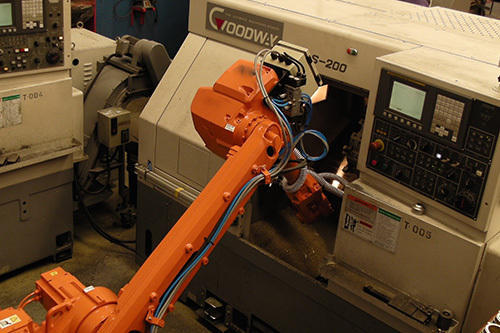 Cnc Machine Tending Robot, रोबोट मशीन in Kolhapur , Connect Technologies |  ID: 15402162888