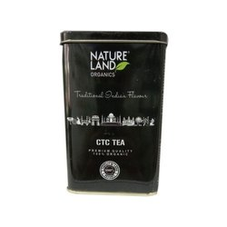 Nature Land Organic CTC Tea, 220g