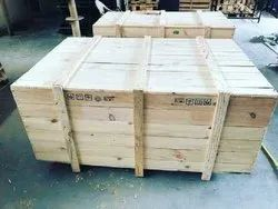 Light Weight Rectangle Industrial Wooden Packaging Box, 16-25 mm, Box Capacity: 201-400 Kg