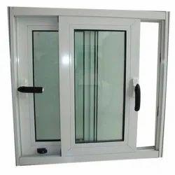 Sliding White UPVC Glass Window