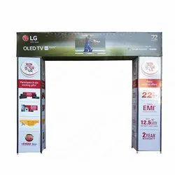 Gate Type Promotional Sign Board