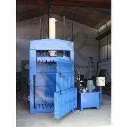 Cotton Waste Hydraulic Baling Machine