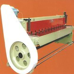 Semi-Automatic Under Crank Shearing Machine