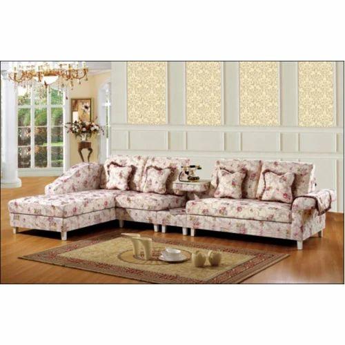 Leatherite Printed Sofa Set