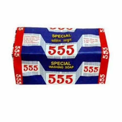 555 Special Washing Soap. 165 Gm, Shape: Rectangle, Packaging Type: Packet