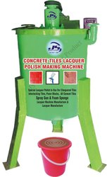 Concrete Tiles Lacquer Polish Making Machine