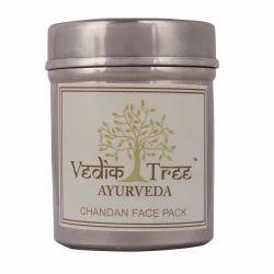 Vedik Tree Ayurveda Chandan Face Pack, Cream, Packaging Size: 50gm