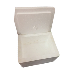 White Thermocol Packing Box