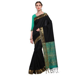 Plain  Indian Ladies Saree