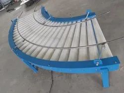 Taper Roller Conveyor For Bags