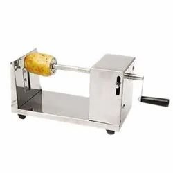 Mild Steel Manual Potato Spring Cutter, For Industrial, Model Name/Number: Ach