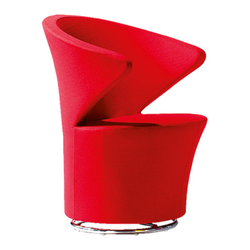 Designer Red Lounge Chair