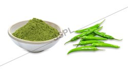 Green Chilli Powder, Packaging: PP Bag and Box, 25 Kg