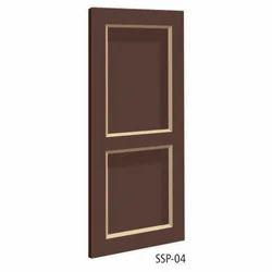 Designer Solid Panel PVC Door