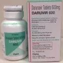 Darunavir Daruvir 600 mg Tablet