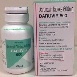 Darunavir Daruvir 600 mg Tablet