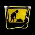 Yellow 3 M Retro Sign Boards