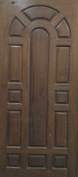 Burma Teak Wood Arch Door