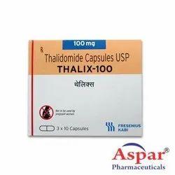 Anti Cancer Medicines Thalix 100mg (Thalidomide)
