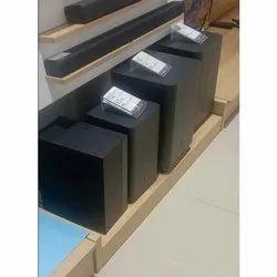 Zebronics Black Multimedia 5.1 Channel Speaker, Electric